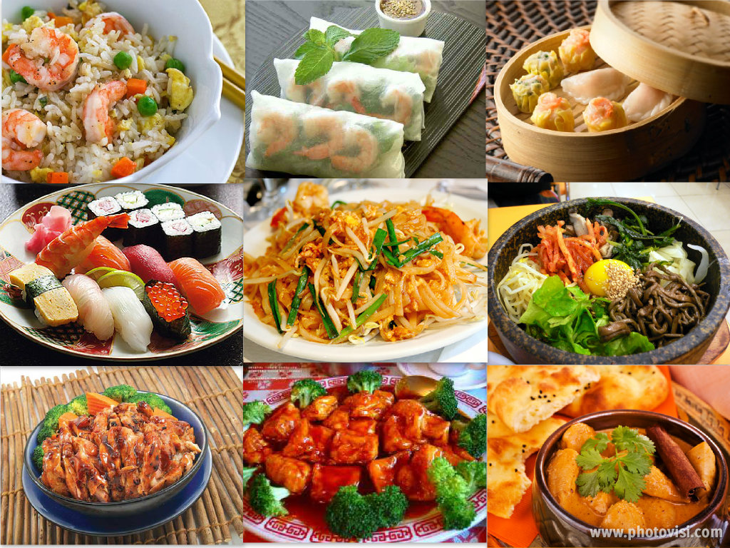 what americans think about asian foods and asians
